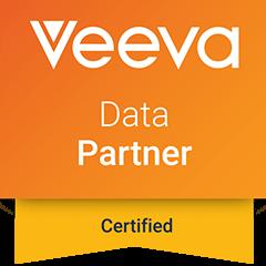 Intouch is a Veeva Certified Partner; Veeva Data Partner logo