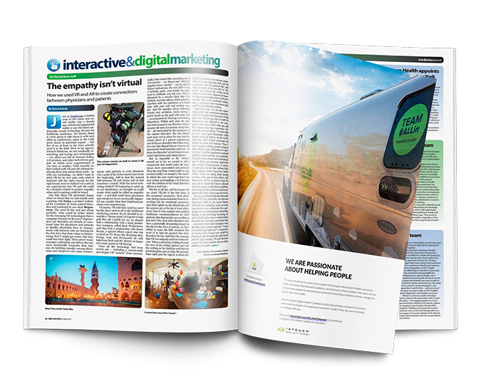 interactive and digital marketing magazine from Intouch Solutions