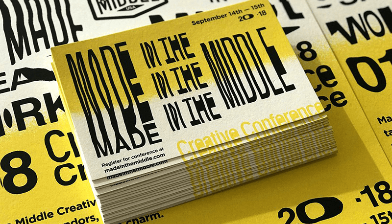 Photo of Made in the Middle conference ticket