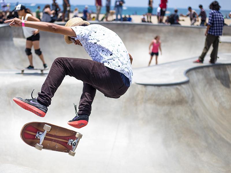Image of skateboarder
