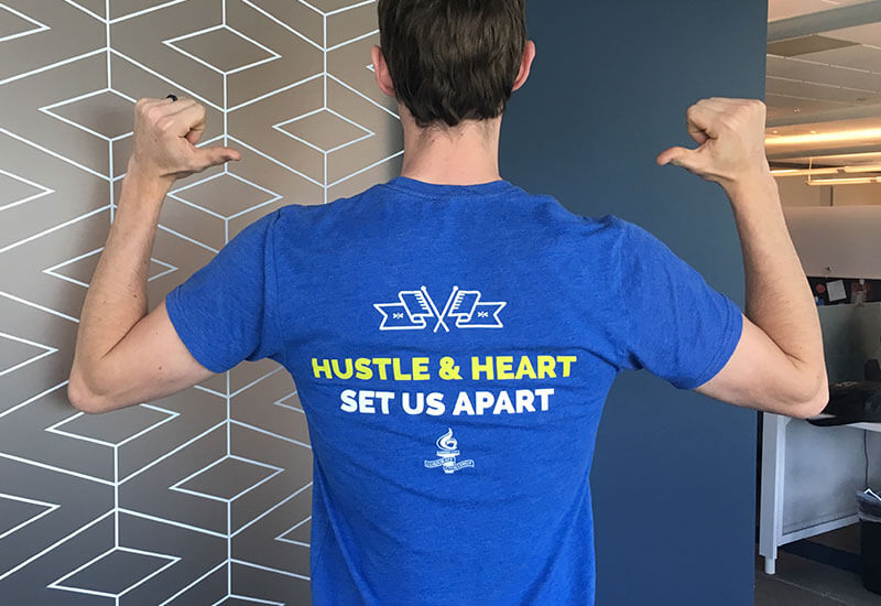 2018 Intouch Corporate Challenge T-shirt