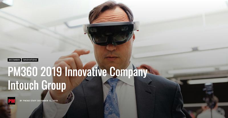 Photo of a man wearing virtual reality goggles