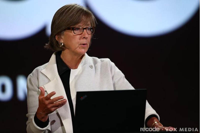 Photo of internet trends guru Mary Meeker