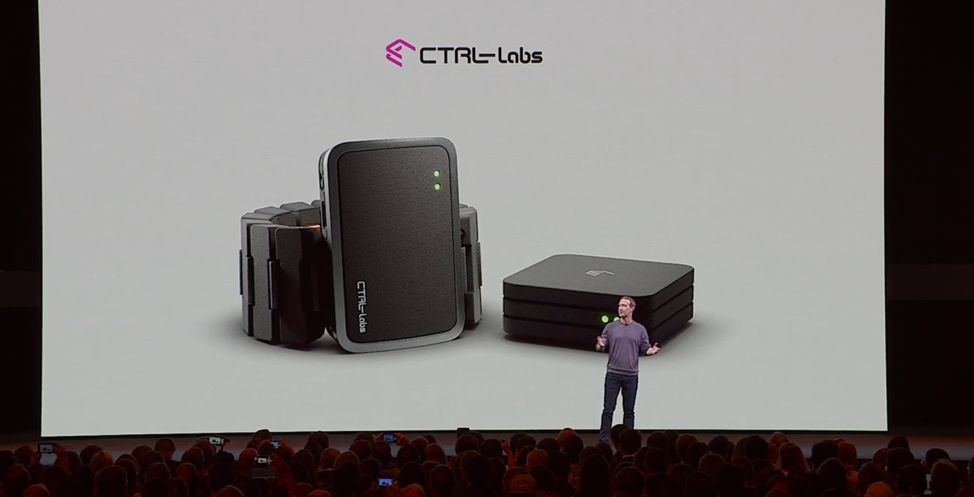 Facebook's Mark Zuckerberg Speaking About CTRL-Labs