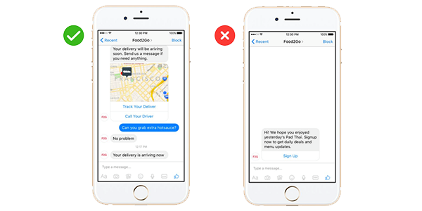 Right and wrong ways to market with chatbots